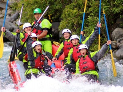 White-water-rafting-Turangi-adventure